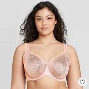 Womens 46C pink bra